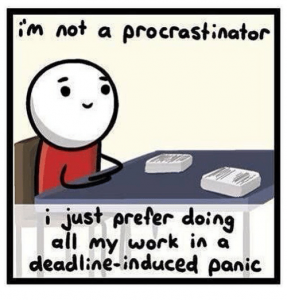 procrastination montreal