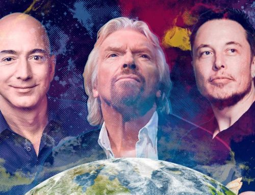 More Stars In Space: How Space Travel Became the Domain of Celebrity Billionaires