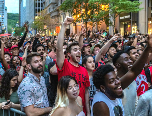 Are you ready! Jurassic Park Montreal is taking over Peel & Cresent for Game 6